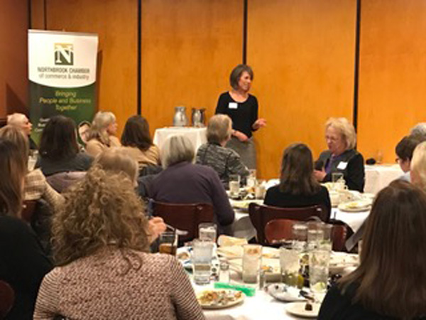 Enhance Nutrition - Marcy Kirshenbaum - Events - Northbrook Chamber of Commerce Womens Lunch - Northbrook IL